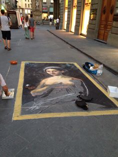 You can find art anywhere and everywhere in Florence.
