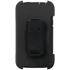 Otterbox Black and Gray Defender Interactive Case Cover with Holster for ATT HTC One X