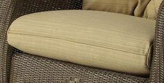 Reflections Lounge Rocker Seat Cushion (Dupione Bamboo (Green))