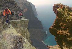 bicicleta de montaña en las islas canarias
