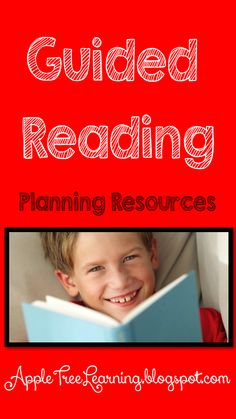 Guided Reading planning resources.  Plan for phonics, fluency, decoding, comprehension, etc. #guidedreading #reading