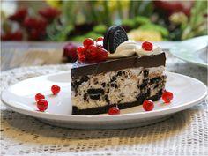 Cheesecake cu biscuiți Oreo Tiramisu, Oreo, Cheesecake, Deserts, Ethnic Recipes, Food, Cakes, Cheesecake Cake, Postres