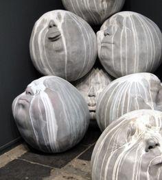 Samuel Salcedo: Rain - 185x180x260 cm - 2011 - Polyester resin and aluminium powder