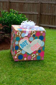 65 New Ideas Baby Reveal Ideas For Family Gender Announcements Boxes Gender Reveal Pinata, Gender Reveal Box, Gender Reveal Balloons, Gender Reveal Decorations, Baby Gender Reveal Party, Baby Reveal Ideas, Gender Party Ideas, Ideas Party, Baby Shower Garcon