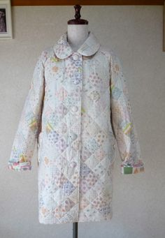 keisuke kanda - quilted coat