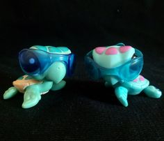 Littlest Pet Shop 1898 2097 Seaturtle LPS Toy HASBRO 2009 Tortoise Turtle