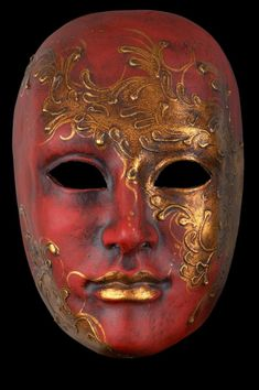 Venice Carnival Costumes, Carnival Masks, Traditional Japanese Tattoos, Red Face, Beautiful Nature Scenes, Gothic Fairy, Venetian Masks, Lowbrow Art, Eye Art