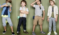 Crew Cuts is a great store to find fun, playful outfits for boys (and girls).