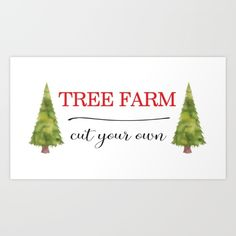Tree Farm by McGovern Studio Holiday Canvas Print Holiday Canvas, Farm Art, Canvas Prints, Art Prints, Giclee Print, Christmas Ornaments, Studio, Holiday Decor, Xmas Ornaments