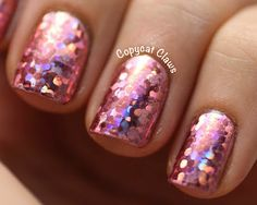 Pink Shiny Nail Foils