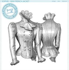Sophie- 1899 French Jacket Pattern