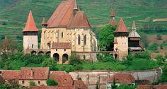 Locul care �?i p?streaz? de secole aerul medieval. Cetatea Biertan, bijuteria gotic? a Rom�niei