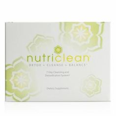 NutriClean® 7-Day Cleansing System with Stevia from Market America at SHOP.COM/SAVEWITHLEAH