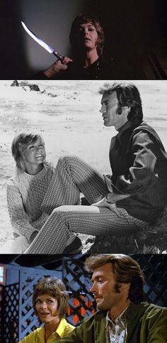 Clint Eastwood, Jessica Walter & Donna Mills in Play Misty for Me (1971)