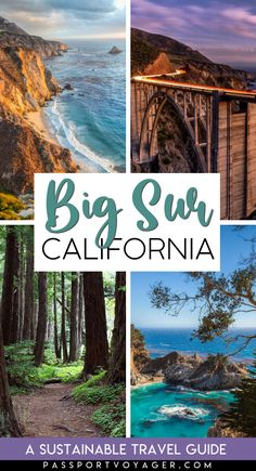 If Big Sur CA is on your bucket list be sure to read this extensive local's guide to hiking Big Sur where to eat how to support the community and find amazing local artisans how to drive and hike safely uncover hidden local gems where to stay and more! Usa Travel Guide, Travel Usa, Travel Guides, California Travel Guide, Beach Travel, Travel Tips, San Diego, San Francisco, Cool Places To Visit