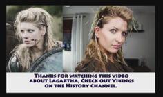 How to do Lagartha's hair in The Vikings