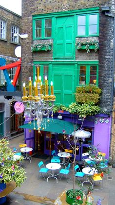 Neal's Yard, London, USA