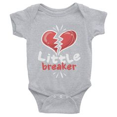 Valentines Day Shirts For Toddler Boys, Valentines Day Shirt Baby Boy, Valentines Day Shirt Youth Boy, Little Heart Breaker, NB To 12 Yrs Heart Shirt, Valentines Day Shirts, Toddler Boys, Children, Kids, Bodysuit, Trending Outfits, Baby Care, Clothing