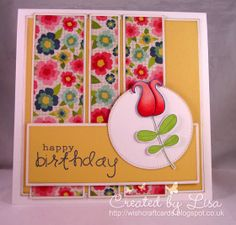 Doodle Flowers, Jane's Doodles stamp set - Craft Mojo DT - Wishcraft