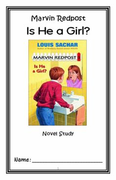 Marvin+Redpost:+Is+He+a+Girl?+(Louis+Sachar)+Novel+Study+/+Reading+Comprehension+from+McMarie+on+TeachersNotebook.com+-++(30+pages)++-+A+fun,+engaging,+30-page+booklet-style+Novel+Study+complete+with+a+challenging,+book-based+Word+Jumble+and+Word+Search.++Based+on+Louis+Sachar's+'Marvin+Redpost:+Is+He+a+Girl?'