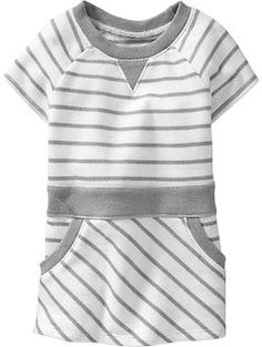 Striped Terry-Fleece Tunics for Baby