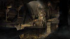 ArtStation - Mayan Throne Room, Tun Jie Foo