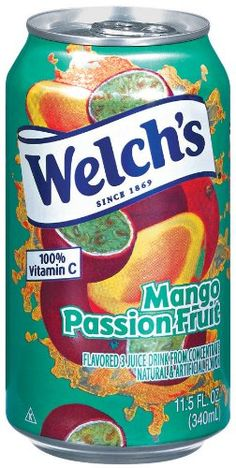 Welch's Blended Juice Drink, No Preservatives, Mango/Passion Fruit Cans (Pack of *** To view further for this article, visit the image link. Juice Drinks, Healthy Drinks, Welch Juice, Types Of Fruit, Soup Kitchen, Juicing For Health, Grapefruit Juice, Kool Aid, Slushies