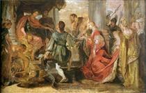 Generosity of Scipio - Peter Paul Rubens
