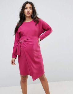 013bcab9e17d2 ASOS Maternity Batwing Mini Dress with Wrap Skirt Day Dresses, Dress  Outfits, Fashion Dresses