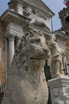 Lion at the gate of the Arsenale
