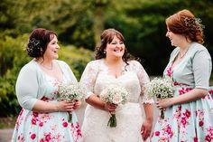 Floral Hall Wedding - Staffordshire WEdding Photography - Gemma & Dan-373 Bride & Bridesmaids