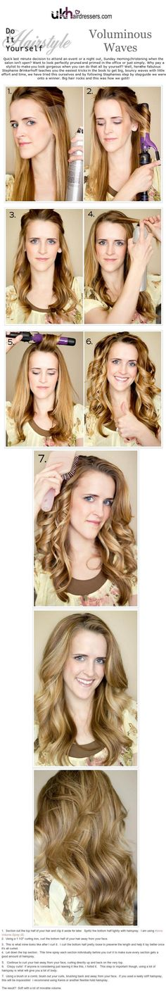 DIY Hairstyles Retro Bouffant