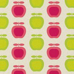 Retro apple print