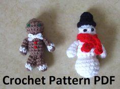 mini crochet christmas