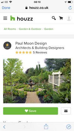 Moon Design, Architect Design, Houzz, Outdoor Gardens, Building, Plants, Buildings, Plant, Construction