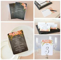 Carry your wedding theme through to your important day-of details, including menus, place cards, programs and more.