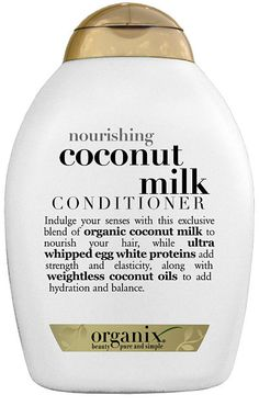 My daughter loves this coconut conditioner. It works really well on long, tangled hair.