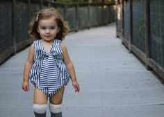 Stacey Bow Romper