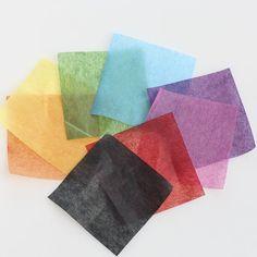 Assorted Precut Tissue Paper Squares