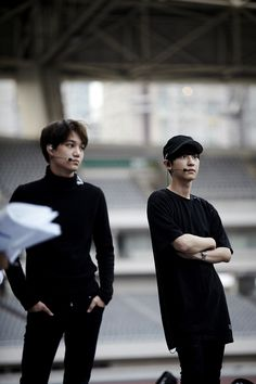 Kai and Chanyeol