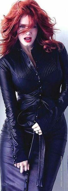 Christina Hendricks ♠ by alwaraky ♠ Christina Hendricks, Redhead Girl, Fiery Redhead, Hottest Redheads, Beautiful Redhead, Beautiful Christina, Jolie Photo, American Women, Taurus