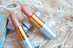 MAC Cinderella Lipsticks - Free as a Butterfly, Royal Ball Swatches!