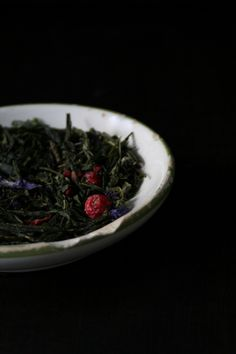 Green tea+pomegranate+grape+cornflowers