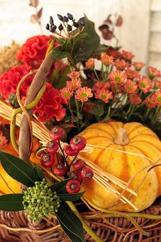 Fall arrangement  .**
