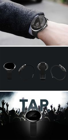 The TAP watch is the result of an exploration into sound that helps the hearing-impaired.