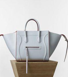 Céline Medium Luggage Phantom Handbag    Light blue handbag Celine Bag  Luggage 04a8b310f3532
