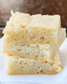 Dutch Butter Cake. This tastes JUST like what we had in Amsterdam. Only 4 ingredients, and everyone always raves over it!