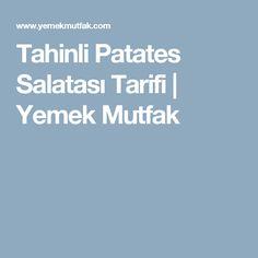 Tahinli Patates Salatası Tarifi | Yemek Mutfak