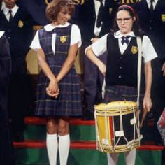 Is this a picture of @Anastasia Marie & Ms. Hooker at the Drumline competition?