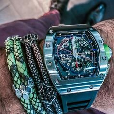 Richard Mille RM011 Roberto Mancini #watch #watchporn #wristgame #richardmille #rich #money #millionaire #billionaire #dreambig #luxury #lifestyle #luxurylife #success #jewelry #bracelet #instalike #instastyle #gentleman